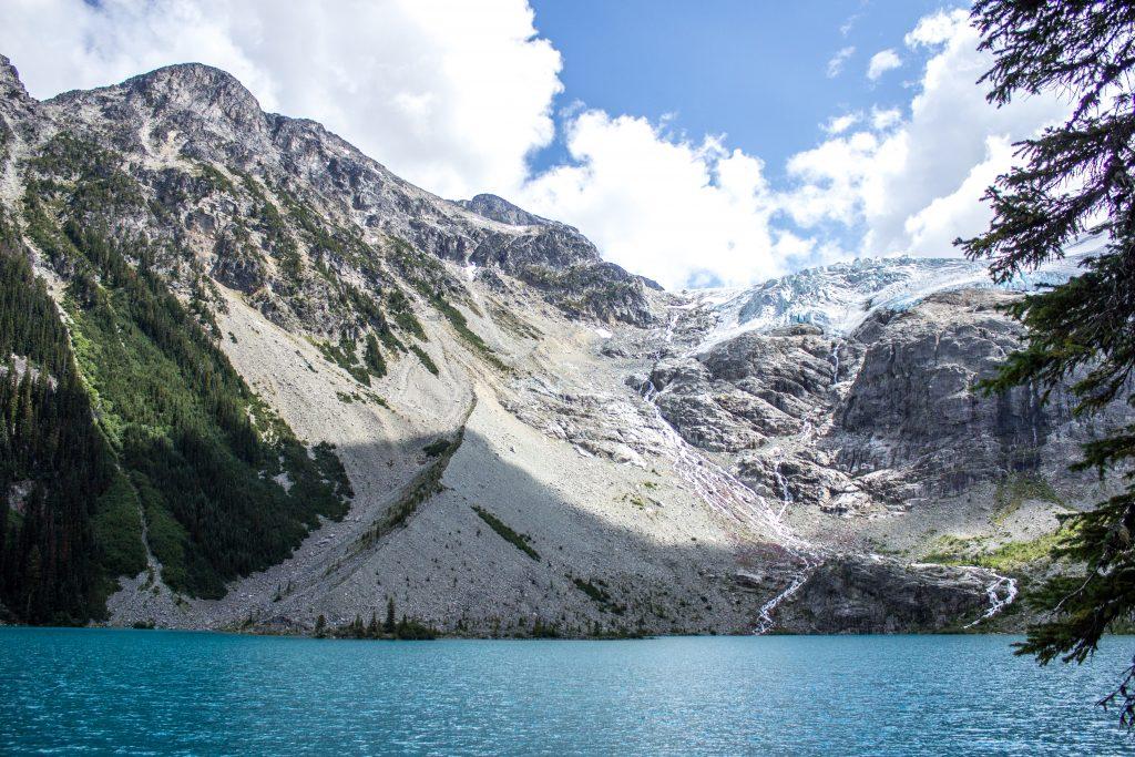 Matier Glacier at the Joffre Lakes Provincial Park